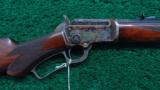 FACTORY ENGRAVED MODEL 97 MARLIN RIFLE