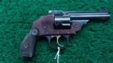 IVER JOHNSON SAFETY AUTOMATIC HAMMERLESS DOUBLE ACTION REVOLVER