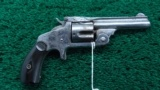 SMITH & WESSON BABY RUSSIAN REVOLVER WITH SPUR TRIGGER