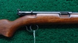WINCHESTER MODEL 74 RIFLE IN CALIBER 22 LONG RIFLE