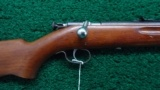 WINCHESTER MODEL 67 BOLT ACTION CALIBER 22 RIFLE