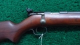 WINCHESTER MODEL 69A 22 CALIBER BOLT ACTION RIFLE TARGET MODEL