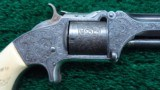 CASED NIMSCHKE ENGRAVED PRESENTATION NUMBER 2 ARMY REVOLVER