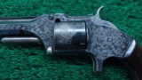 CASED FACTORY ENGRAVED SMITH & WESSON NUMBER 2 ARMY - 3 of 17