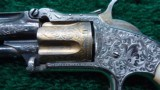 FACTORY ENGRAVED SMITH & WESSON WITH VERY RARE 3-TONE COLORATION - 2 of 17