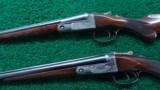 WONDERFUL PAIR OF SMALL BORE PARKER G GRADE SHOTGUNS - 2 of 25