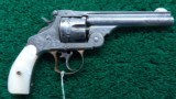 NIMSCHKE ENGRAVED EXHIBITION GRADE SMITH & WESSON 1ST MODEL DOUBLE ACTION FRONTIER REVOLVER - 1 of 15