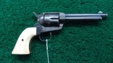 COLT SINGLE ACTION WITH 5-1/2 BARREL