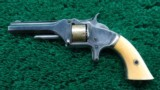 SMITH & WESSON NUMBER 1 SECOND MODEL REVOLVER - 2 of 9