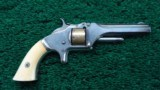 SMITH & WESSON NUMBER 1 SECOND MODEL REVOLVER - 1 of 9