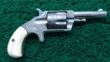 HOPKINS & ALLEN #2 BLUE JACKET 32 CALIBER REVOLVER