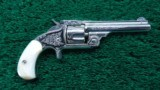 FACTORY ENGRAVED NUMBER 1-1/2 CALIBER 32 SMITH & WESSON REVOLVER