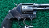 SMITH & WESSON SECOND MODEL .22 HAND EJECTOR REVOLVER - 6 of 13