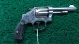 SMITH & WESSON SECOND MODEL 1902 .38 MILITARY & POLICE REVOLVER