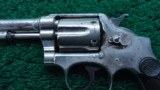 SMITH & WESSON SECOND MODEL 1902 .38 MILITARY & POLICE REVOLVER - 6 of 10