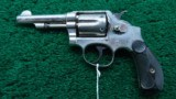 SMITH & WESSON SECOND MODEL 1902 .38 MILITARY & POLICE REVOLVER - 2 of 10