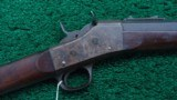 REMINGTON NUMBER 1 ROLLING BLOCK RIFLE