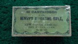 FANTASTIC BOX OF HENRY REPEATING RIFLE CARTRIDGES
