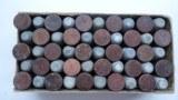 A BOX OF 44 CALIBER RIM FIRE CARTRIDGES - 8 of 11