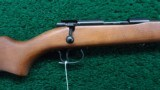 WINCHESTER MODEL 121 BOLT ACTION SINGLE SHOT RIFLE
