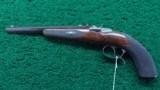 FINELY MADE CZECH SINGLE SHOT TARGET PISTOL - 2 of 14
