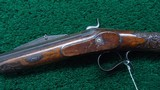 VERY INTERESTING SINGLE SHOT PERCUSSION RIFLE - 2 of 19