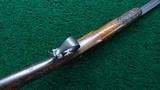 VERY INTERESTING SINGLE SHOT PERCUSSION RIFLE - 3 of 19