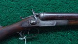 REMINGTON-WHITMORE MODEL 1878 'NEW MODEL HEAVY SHOTGUN' IN 10 GAUGE