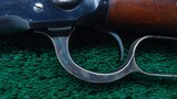 WINCHESTER MODEL 1892 SADDLE RING CARBINE - 10 of 17