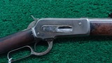 ANTIQUE WINCHESTER MODEL 1886 IN 45-90 WCF