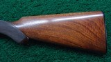 CASED FRANCOTTE 20 GAUGE HAMMERLESS DOUBLE BARREL SHOTGUN - 15 of 20