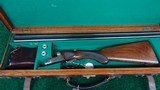 CASED FRANCOTTE 20 GAUGE HAMMERLESS DOUBLE BARREL SHOTGUN - 19 of 20
