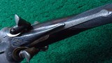 CASED ALEXANDER HENRY DOUBLE BARREL 12 GAUGE SHOTGUN - 8 of 22
