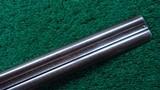 CASED ALEXANDER HENRY DOUBLE BARREL 12 GAUGE SHOTGUN - 7 of 22