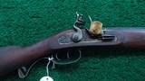 MODERN MADE LYMAN FLINTLOCK HALF STOCK MUZZLE LOADING RIFLE