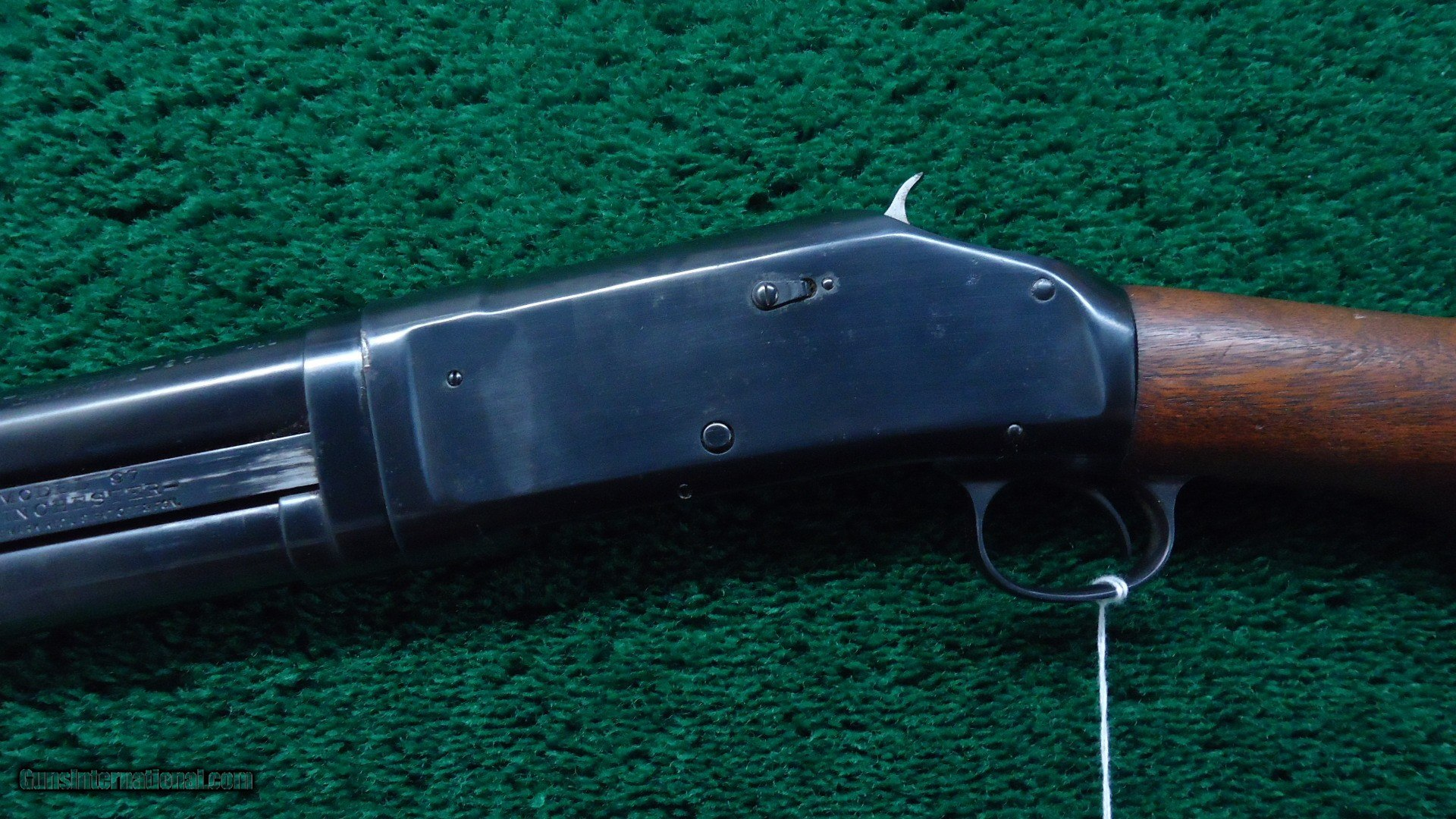 Winchester 97 Steel Buttplate