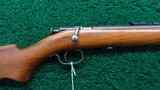 WINCHESTER MODEL 60A BOLT ACTION RIFLE