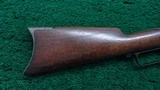 VERY EARLY WINCHESTER MODEL 1876 OPEN TOP RIFLE - 16 of 18