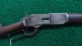 VERY EARLY WINCHESTER MODEL 1876 OPEN TOP RIFLE