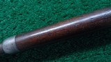 VERY EARLY WINCHESTER MODEL 1876 OPEN TOP RIFLE - 12 of 18