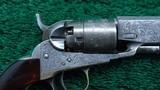 CASED ENGRAVED 1862 POCKET COLT - 2 of 18