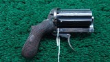 PIPE CASED BELGIUM MADE PEPPERBOX