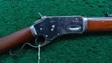 LARGE FRAME WHITNEY KENNEDY LEVER ACTION RIFLE