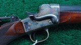 REMINGTON HEPBURN NUMBER 3 ROLLING BLOCK RIFLE - 9 of 22