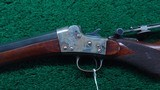 REMINGTON HEPBURN NUMBER 3 ROLLING BLOCK RIFLE - 2 of 22