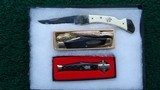 THREE WINCHESTER KNIVES