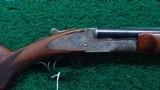 VERY RARE L.C. SMITH IDEAL GRADE DOUBLE BARREL 410 SHOTGUN