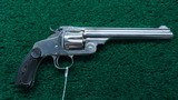 SMITH & WESSON NEW MODEL NUMBER 3 AUSTRALIAN CONTRACT RUSSIAN REVOLVER