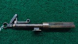 ALL-BRASS THREE-BARREL PEPPERBOX TRAP GUN