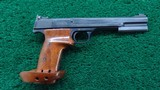 SMITH & WESSON MODEL 46 IN 22 CALIBER